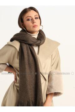 Brown - Printed - Shawl Wrap - GINA LOREN(110335065)