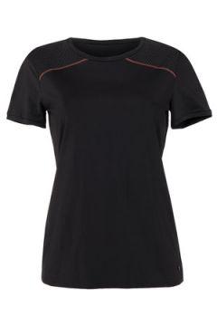 T-shirt Lisca T-shirt de sport manches courtes Energy Cheek noir(115529524)