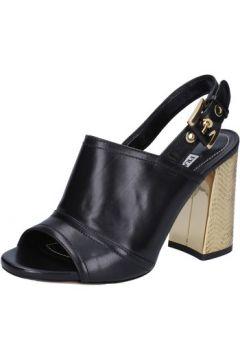 Sandales Francesco Sacco sandales noir cuir AB735(115393854)