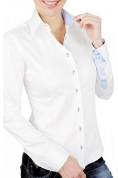 Chemise Andrew Mc Allister chemise brodee butterfly blanc(88704527)