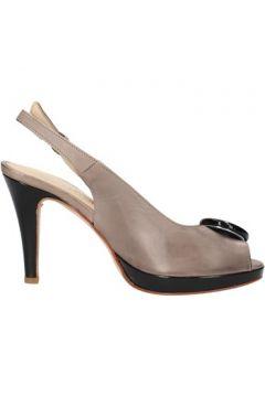 Sandales Pellina sandales gris cuir AF783(88469425)
