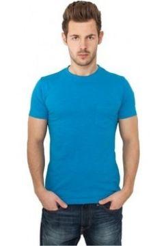 T-shirt Urban Classics T-shirt à poche à col rond(127965998)