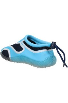 Baskets enfant Everlast sneakers bleu textile celeste caoutchouc AF852(88482117)