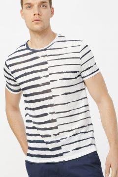 Fabrika Lacivert Erkek T-Shirt(113996128)