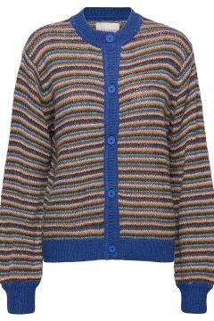 Nanna Cardigan Cardigan Strickpullover Blau LOLLYS LAUNDRY(120090511)