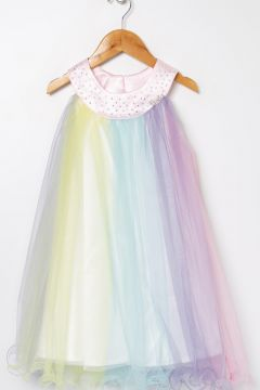 Barbie Çok Renkli Elbise(113997104)