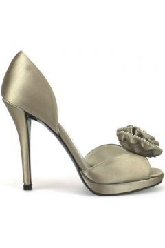 Sandales Stuart Weitzman sandales beige satin AH407(88520496)