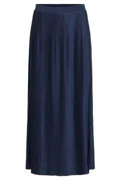 VILA Plissée Jupe Longue Women blue(113659513)