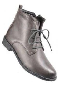 Pantofelek24.pl   Damskie botki workery w szarym kolorze(112082960)