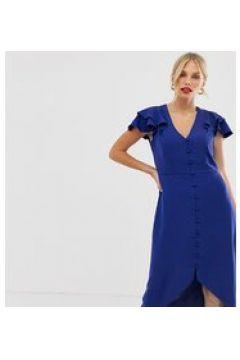 Oasis - Vestito da giorno blu con volant(123210245)