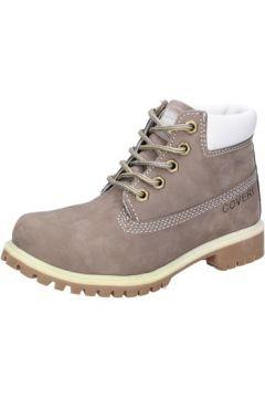 Boots enfant Enrico Coveri COVERI bottines gris cuir suédé AD831(115395344)
