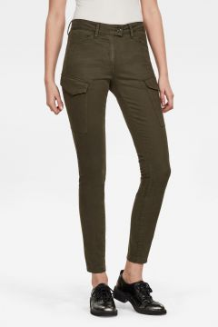 G-Star RAW Women Blossite G-Shape Army High Skinny Pant Green(117927170)