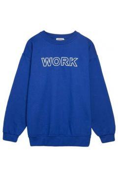 Sweat-shirt Andrea Crews Sweater WORK Blue(88685575)
