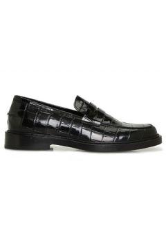 Beymen Collection Kadın Siyah Krokodil Dokulu Deri Loafer 36(126217830)