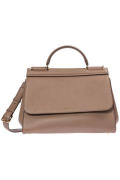 Women's leather handbag shopping bag purse sicily soft(118298690)