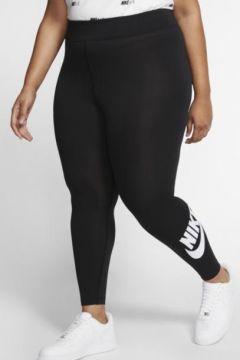 Nike Sportswear Leg-A-See Yüksek Belli Kadın Taytı (Büyük Beden)(109165572)