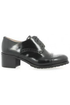 Chaussures Paco Valiente Derby cuir glacé(115611186)