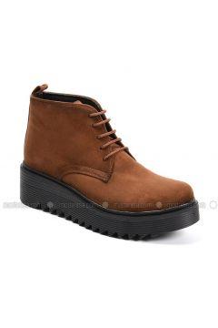 Tan - Boot - Boots - Sapin(110326024)
