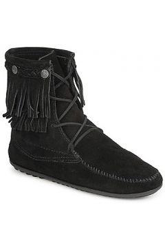 Boots Minnetonka DOUBLE FRINGE TRAMPER BOOT(115385861)