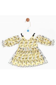 BG Baby Sarı Kız Bebek Elbise(114005707)