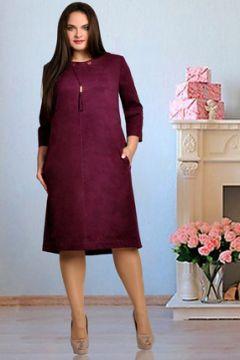 Платье Тэнси 208 гранатово-винный(115245832)