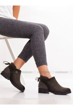 Khaki - Boot - Boots - MODA AYAKKABI(110315389)
