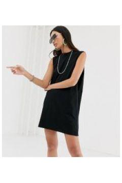 COLLUSION - Vestitino con giromanica ampio - Nero(95042820)