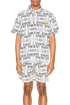 Рубашка с коротким рукавом enjoy - ALIFE(115068508)