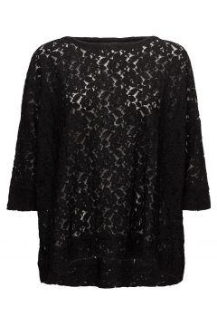 Brandy Top Blouses Short-sleeved Schwarz MASAI(114150320)