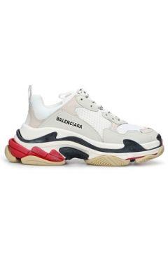 Balenciaga Kadın Triple S Beyaz Logolu Sneaker 38 EU(120084223)