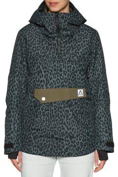 Wear Colour Homage Anorak Damen Snowboard-Jacke - Black Leo(100271029)