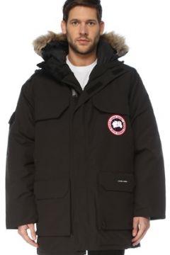 Canada Goose Erkek Siyah Kapüşonlu Logolu Mont S EU(126848074)