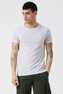 Koton Bisiklet Yaka Beyaz T-Shirt(118428982)