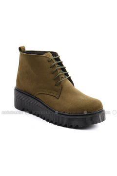 Khaki - Boot - Boots - Sapin(110326025)