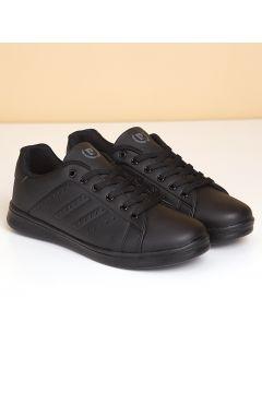 Pierre Cardin Kadın Günlük Spor Ayakkabı-Siyah(118643859)