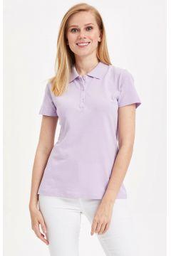 DeFacto Kadın Basic Polo T-shirt(108986453)
