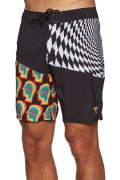 Globe Cof Boardshorts - Vortex Black(114587164)