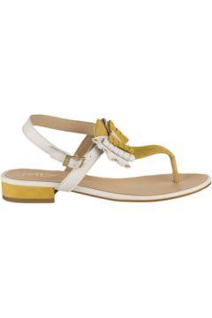 Sandales M.l.v Nu pieds femme - - Jaune - 36(127933675)