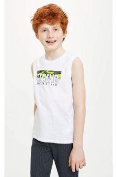 DeFacto Erkek Çocuk Baskılı Atlet(119061894)