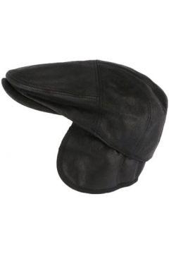 Casquette Aussie Apparel Casquette cache oreille cuir suédine noir Epsom(101578581)