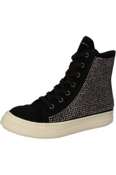 Chaussures Twin Set TWIN-SET sneakers noir daim strass AE840(115399575)