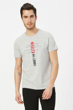 Limon Gri Melanj T-Shirt(113994778)
