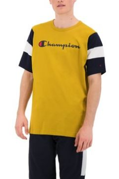 T-shirt Champion GIALLO OCRA(128003916)