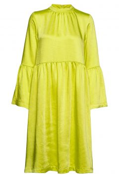 Pil Dress Kleid Knielang Gelb RÉSUMÉ(114163765)