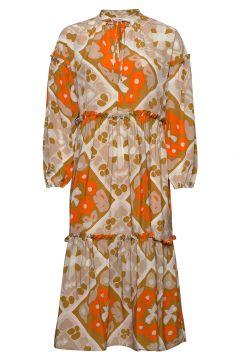 Iltarusko VÄLly Dress Kleid Knielang Bunt/gemustert MARIMEKKO(118145706)