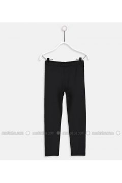 Black - Legging - LC WAIKIKI(110343337)