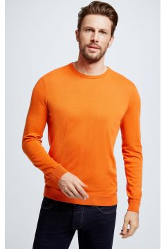 Feinstrick-Pullover Vincent, orange(111093680)