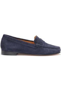 Chaussures Hugs Co. Mocassins penny daim(115428876)