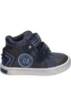 Baskets enfant Enrico Coveri COVERI sneakers gris cuir bleu AD961(88470011)