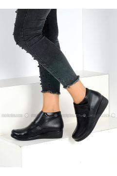 Black - Boot - Boots - Pembe Potin(110313742)